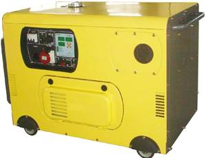 10kva_air-cooled_silent_type_diesel_genset_with_two-cylinder