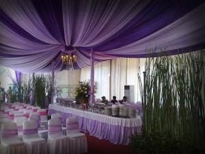 Sewa tenda dekorasi untuk lamaran Pernikahan