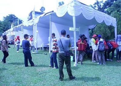 Sewa tenda untuk acara sekolah
