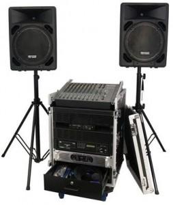 Rental sound system