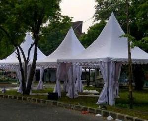 Sewa tenda untuk keberangkatan haji